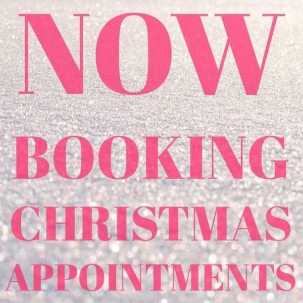 Now Booking Christmas